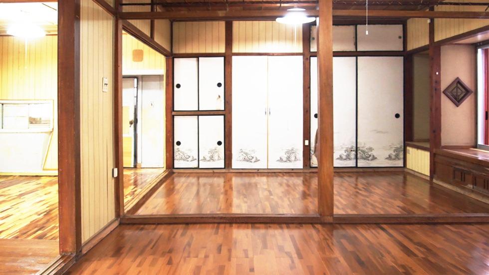 洋室5.7帖が二部屋