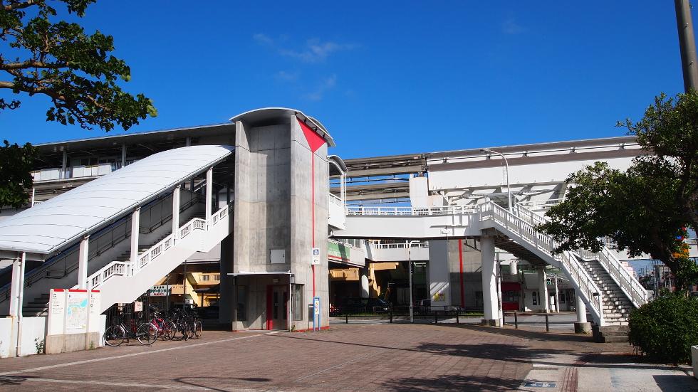 ゆいレール「奥武山運動公園」駅