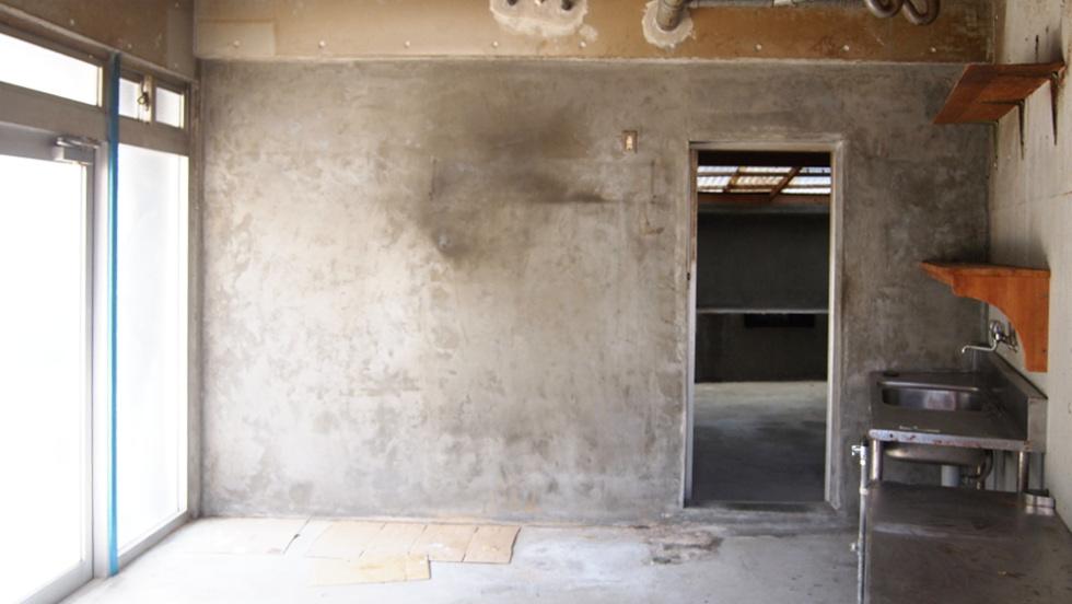 1階の倉庫(元店舗っぽい)