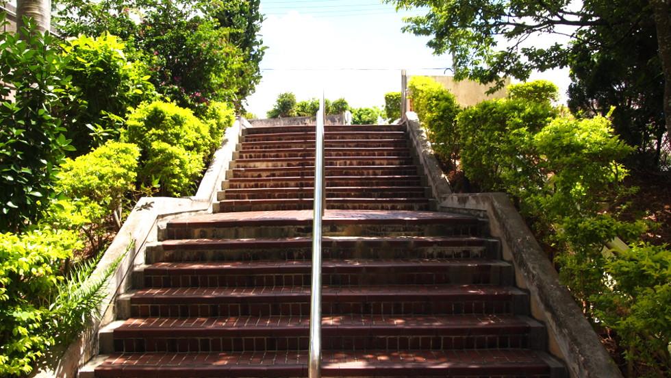 エントランスメイン階段