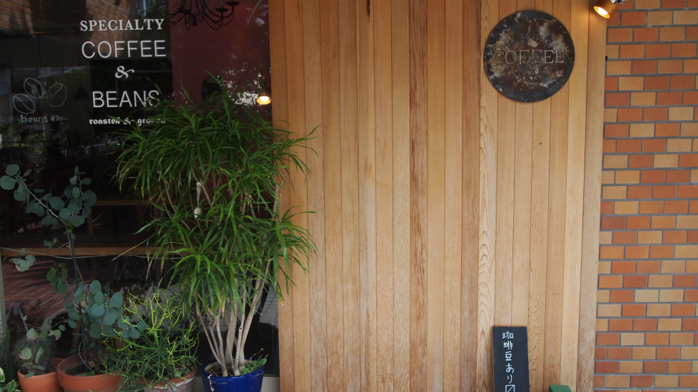 1階のコーヒーショップ